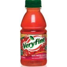 Veryfine 100 Percent Twisted Cherry Juice