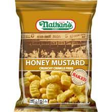 Nathans Crinkle Cut Honey Mustard Fry