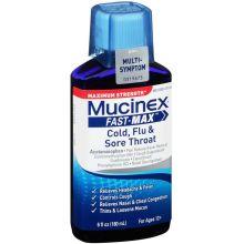 Fast Max Maximum Strength Cold Flu and Sore Throat Liquid