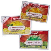 Royal Assorted Citrus Sugar Free Gelatin