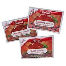 Royal Assorted Red Sugar Free Gelatin