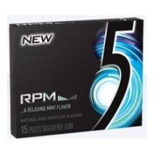 5 RPM Sugarfree Gum