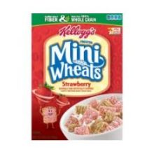 Frosted Mini Wheats Strawberry Cereal 15.5 Ounce