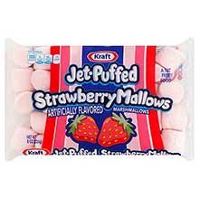 Food Jet Puffed Strawberry Marshmallows