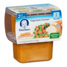 2nd Foods Vegetable Chicken Baby Food