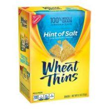 Wheat Thins Hint of Salt Cracker