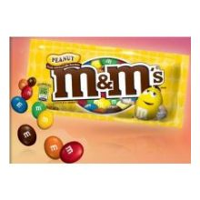 M and Ms Peanut Candy