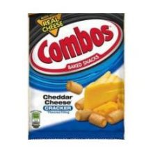 Combos Cheddar Cheese Cracker Singles Snacks