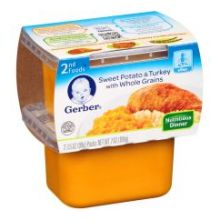 2nd Foods Sweet Potato and Turkey with Whole Grain Baby Food