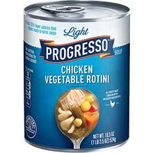 Light Chicken Vegetable Rotini Soup