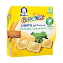 Pasta Pick Ups Spinach and Cheese Ravioli