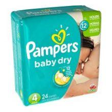 Size 4 Baby Dry Diaper