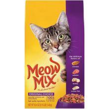 Meow Mix Choice Dry Cat Food