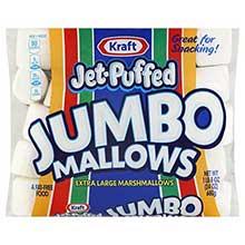 Jet Puffed Jumbo Marshmallow Snack