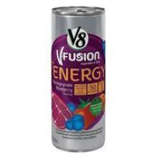 V8 V Fusion Pomegranate Blueberry Energy Drink