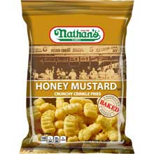 Honey Mustard Crinkle Fry 2 Ounce
