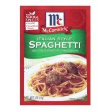 Italian Style Spaghetti Sauce Mix with Mushrooms
