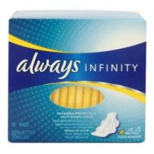 Infinity Regular Unscented Pads with Wings