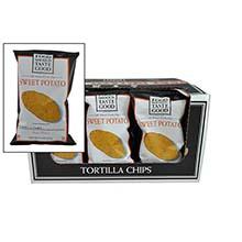 Food Should Taste Good Sweet Potato Tortilla Chips 5.5 Ounce