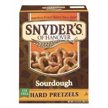 Sourdough Hard Pretzels