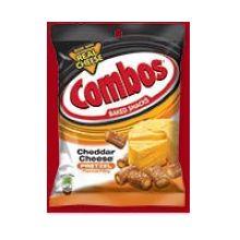 Cheddar Cheese Pretzel Snack
