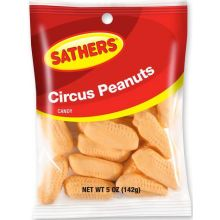 Circus Peanuts Candy 5 Ounce