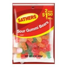 Sour Gummy Bears Candy