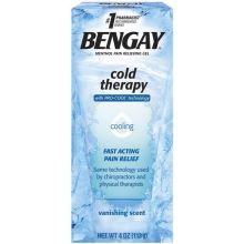 Cold Therapy Vanishing Scent Cooling Menthol Pain Relieving Gel