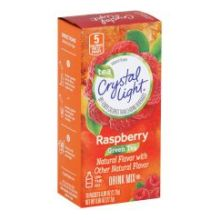 On The Go Green Tea Raspberry Powdered Soft Drink