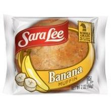 Sara Lee Wrapped Whole Grain Muffin