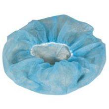 Flat Pack Style Hand Sewn Blue Bouffant Cap