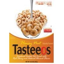 Honey and Nut Tasteeos Cereal