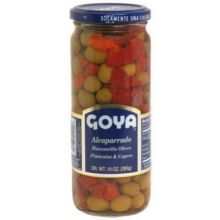 Capers with Pimentos Olives
