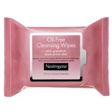 Pink Grapefruit Oil Free Cleansing Wipes