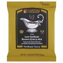 PanRoast Low Sodium Brown Gravy Mix