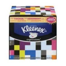 Expressions White Facial Tissue