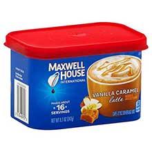 Vanilla Caramel Latte Instant Drink