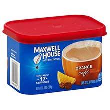 Orange Flavored Instant Drink