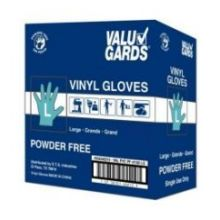 Clear Large Econo Vinyl Disposable Gloves