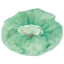 Flat Pack Style Hand Sewn Green Bouffant Cap