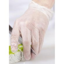 Clear Extra Extra Large Vinyl Disposable Gloves