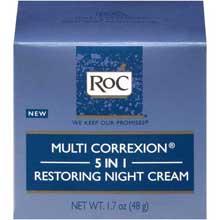 RoC Multi Correxion 5 in 1 Restoring Night Cream 1.7 oz. Box