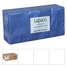 Plain 2 Ply Navy Blue Beverage Napkin