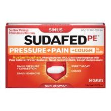 Pe Pressure Pain Cough Non Drowsy Caplets
