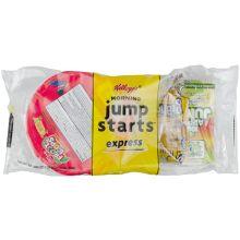Morning Jump Starts Express Fruit Loops Honey Graham and Apple Juice Breakfast Kit