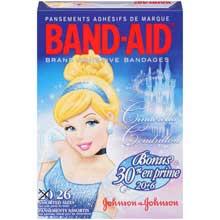 Band-Aid Disney Princess Assorted Brand Adhesive Bandages 26 ct