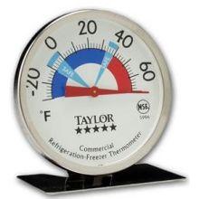 Bimetal 3 Dial Pro Freezer Refrigerator Thermometer