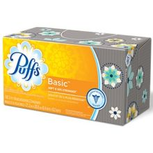 Soft and 50 Percent Stronger Basic Facial Tissue
