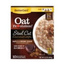 Oat Revolution Maple and Brown Sugar Steel Cut Oats