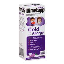 Cold and Allergy Antihistamine and Decongestant Liquid